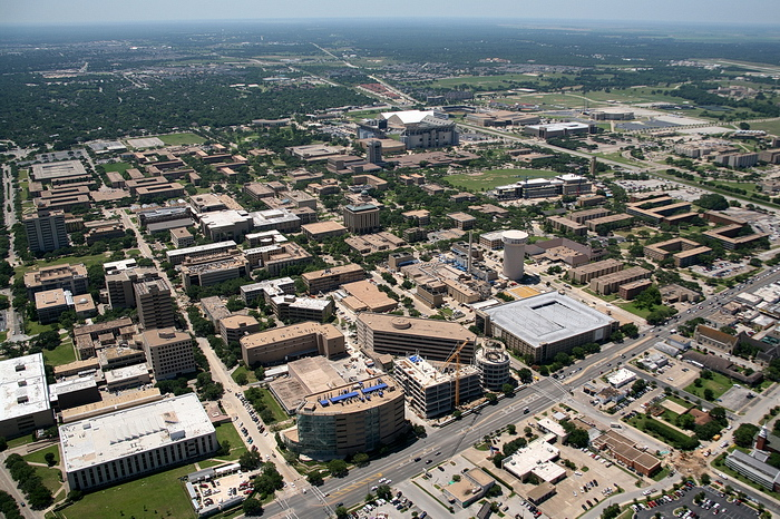 Aerial Photos of Bryan/College Station, TX