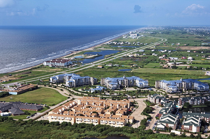 Aerial Photos of Galveston, TX