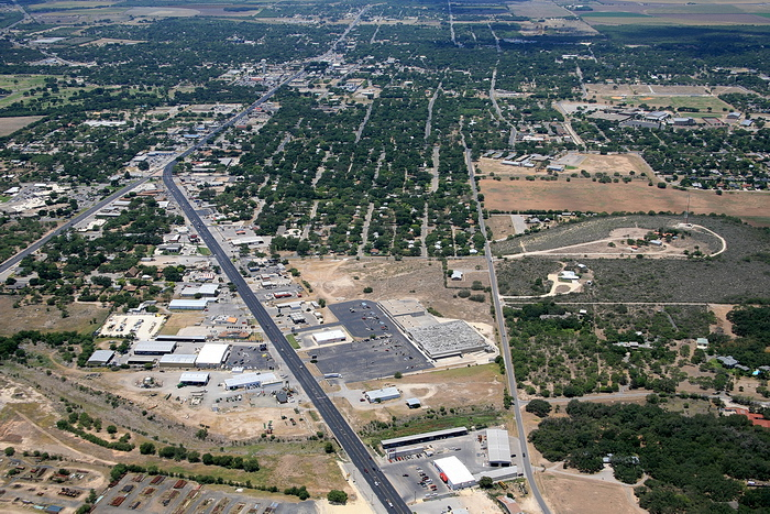 Aerial Photos of Uvalde, TX